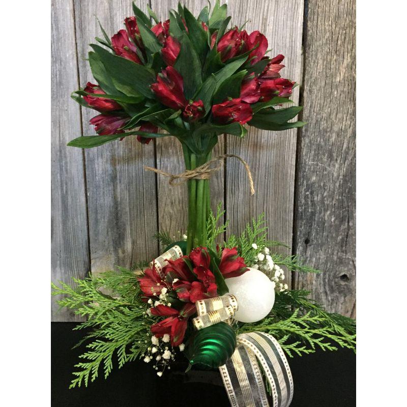 Christmas Topiary.Christmas Topiary Four Seasons Florist Best Washington Mo