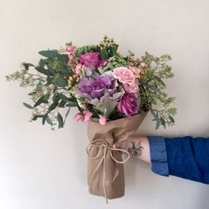 Beauty Hand Tied Bouquet in Tallahassee Florida, A Country Rose Florist