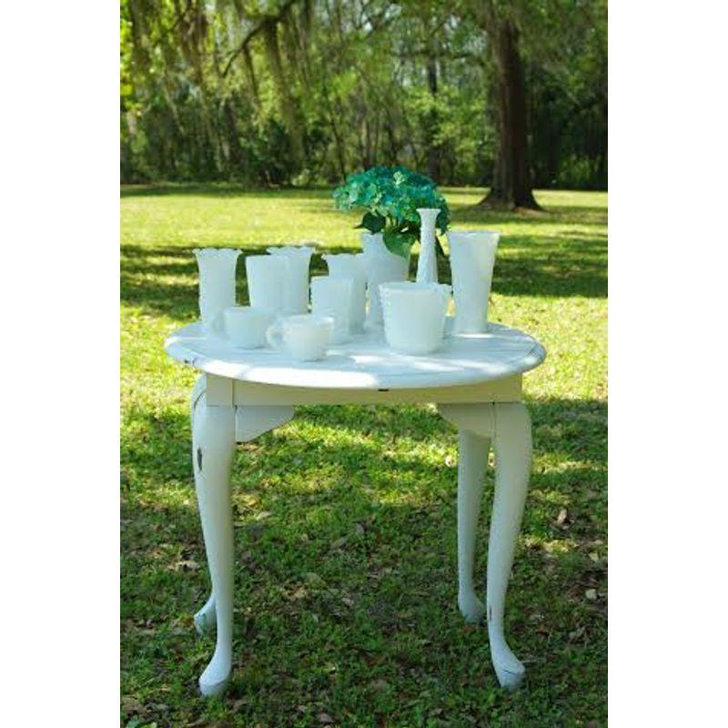 Vintage Milk Glass Vase Rentals Tallahassee Florist Flowers