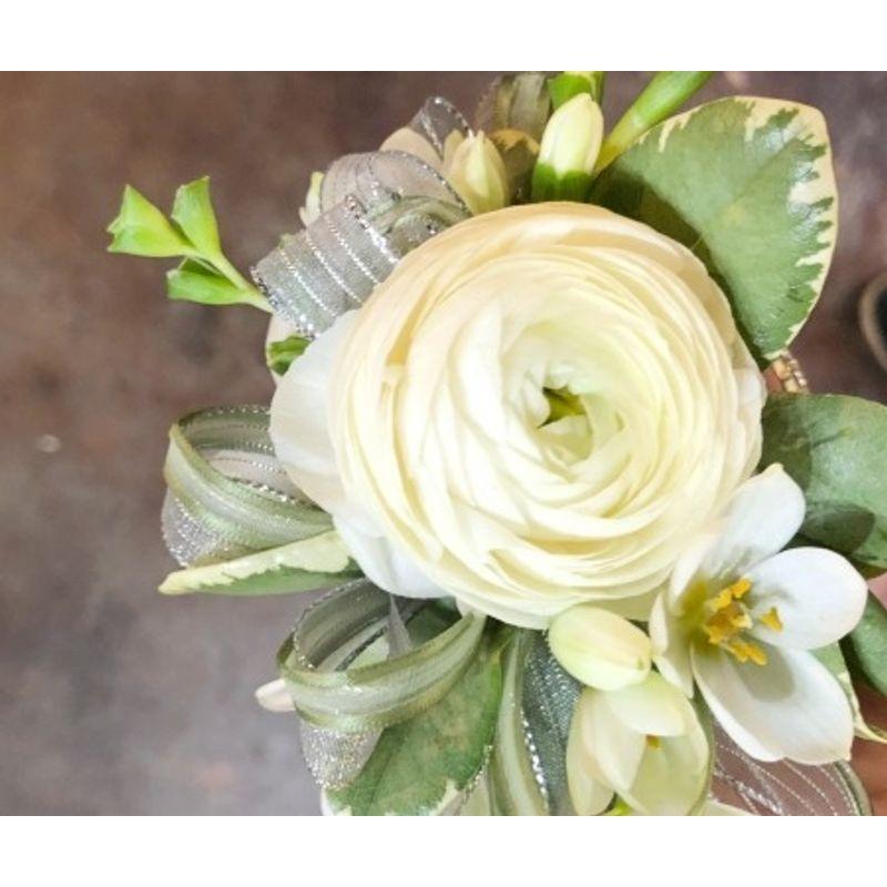 White Ranunculus Lees Summit Mo Florist All Abloom Floral Design