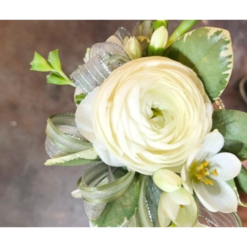 White Ranunculus Lees Summit Mo Florist All Abloom Floral Design