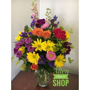 Allen flower shop local family owned florist allen tx florist custom spring designer choice in allen tx allen flower shop mightylinksfo