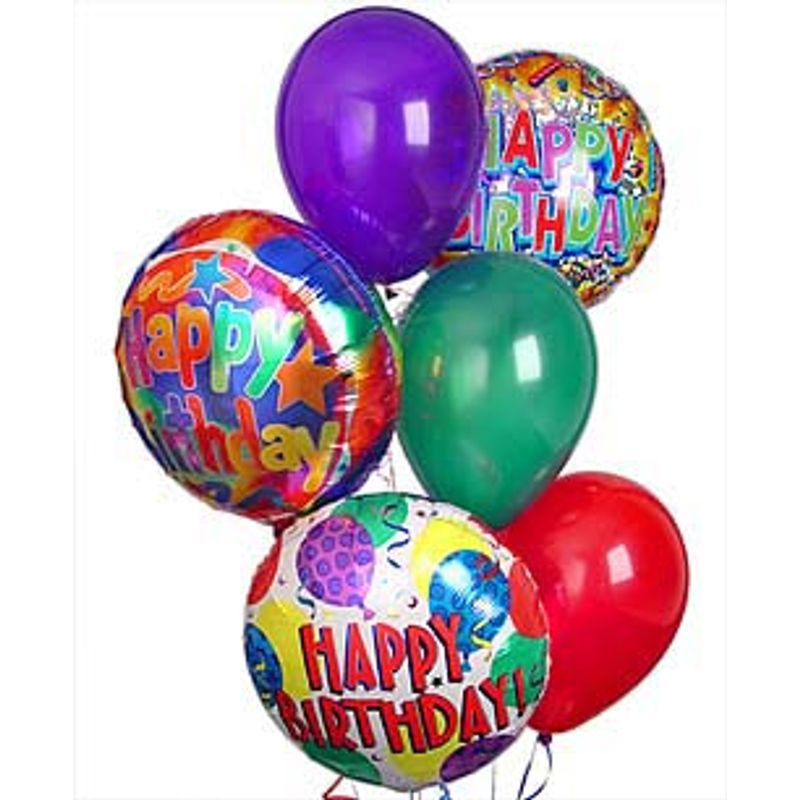 Birthday Balloon Bouquet Spring Florist