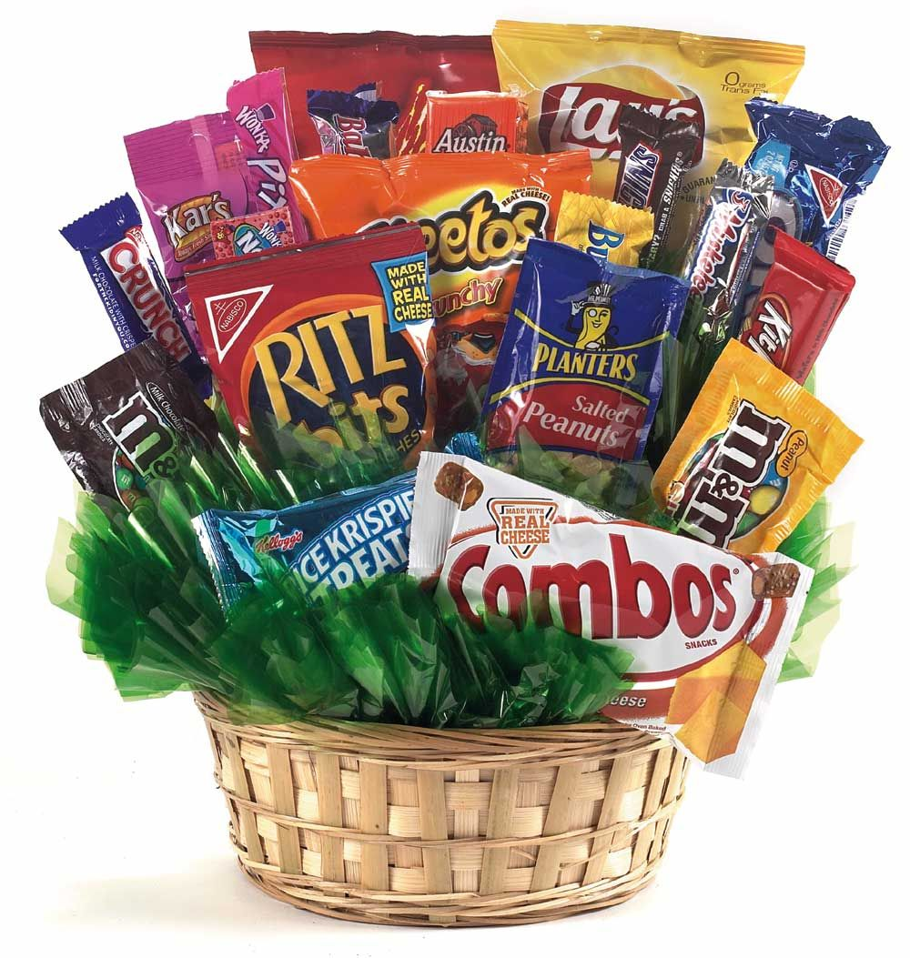 Candy And Snack Basket Spring Florist Flowers In Spring Tx Always
