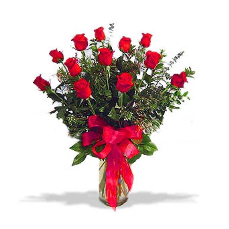Long Stemmed Dozen Red Roses Spring Florist Flowers In Spring Tx