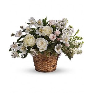 Sympathy and funeral sprays and baskets spring florist flowers in loves journey in spring tx always floral mightylinksfo