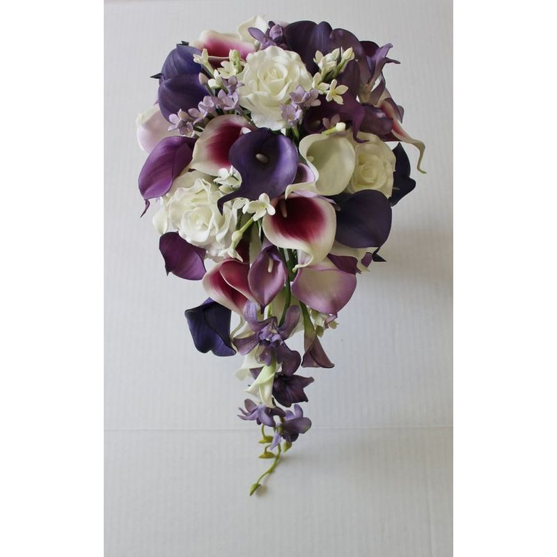 Calla Lily Bridal Bouquet Art Among The Flowers Palm Coast