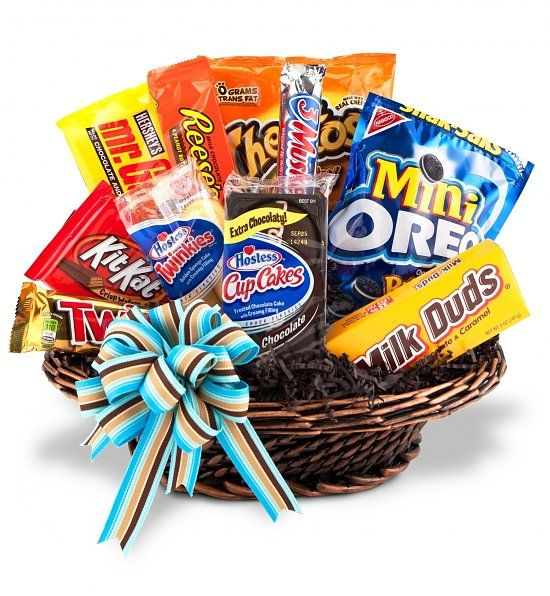 ART Among The FLOWERS Offers A Wide Selection Of Junk Food Gourmet Gift Baskets To Please Anyones Taste We Deliver Locally Palm Coast Ormond Beach