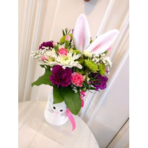 Easter flowers and gifts warsaw ny florist ash lins elegant rose funny bunny in warsaw new york ash lins elegant rose negle Images