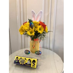 Easter flowers and gifts warsaw ny florist ash lins elegant rose cadbury chick in warsaw new york ash lins elegant rose negle Images