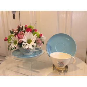 Easter flowers and gifts warsaw ny florist ash lins elegant rose cup of flowers in warsaw new york ash lins elegant rose negle Images