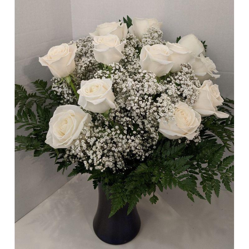 White dozen a whole bunch flower market burlington ma florist more views mightylinksfo