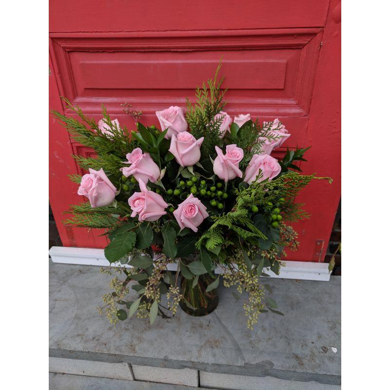 Stem School Wilmington Nc: Dozen Long Stem Roses A Whole Bunch Flower Market