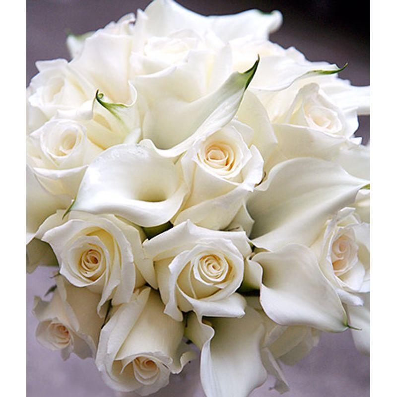 White Rose And Calla Lilies Barrington Flower Shop Barrington