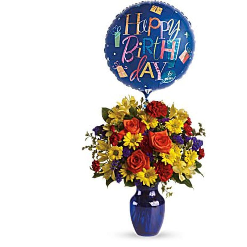 Fly Away Birthday Bouquet Vancouver Bc Online Florist For Quality Flower Delivery Bcflower Ca