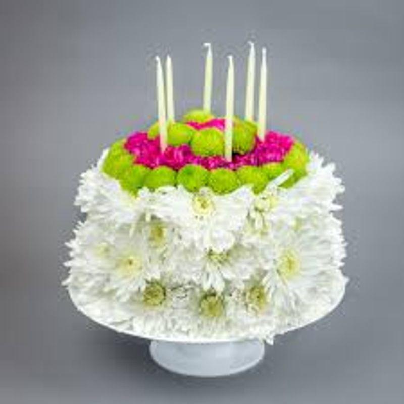 Blooming Birthday Cake Bismarck ND Florist