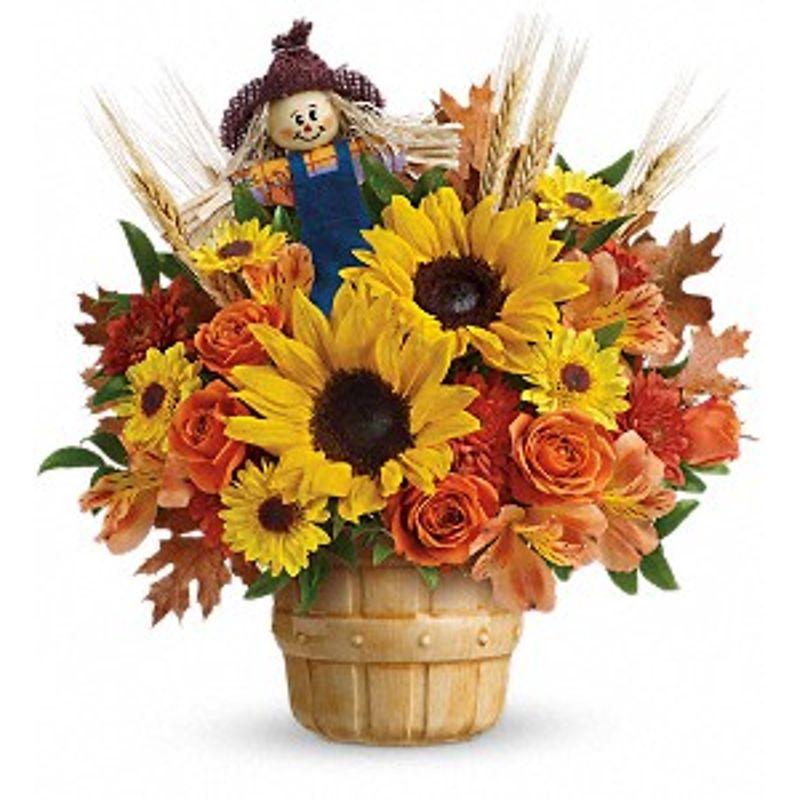 Smiling Scarecrow Bouquet Bismarck, ND Florist
