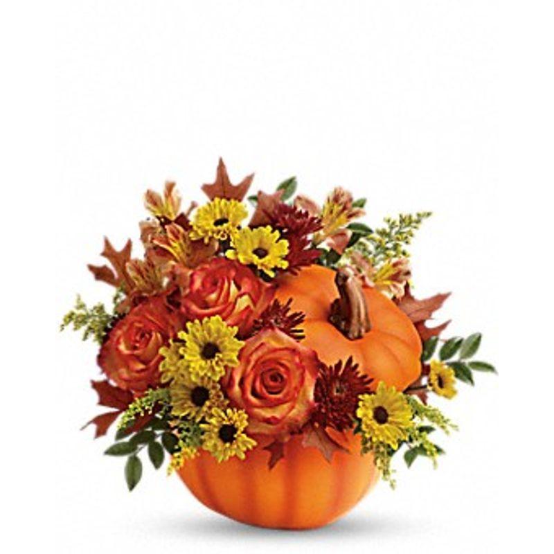 Warm Fall Wishes Bouquet Bismarck, ND Florist