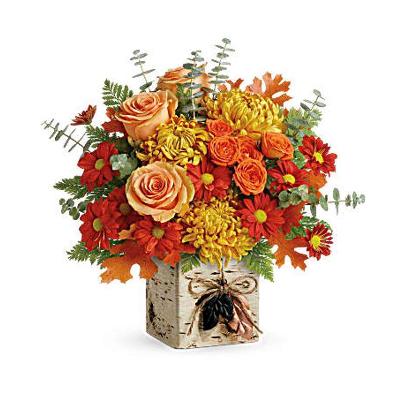 Wild Autumn Bouquet Bismarck, ND Florist