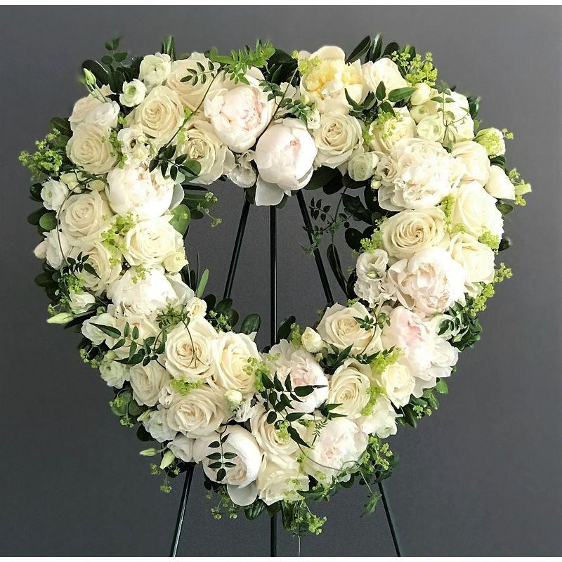 Feminine Open Heart Harrison, Rye & Mamaroneck NY Florist