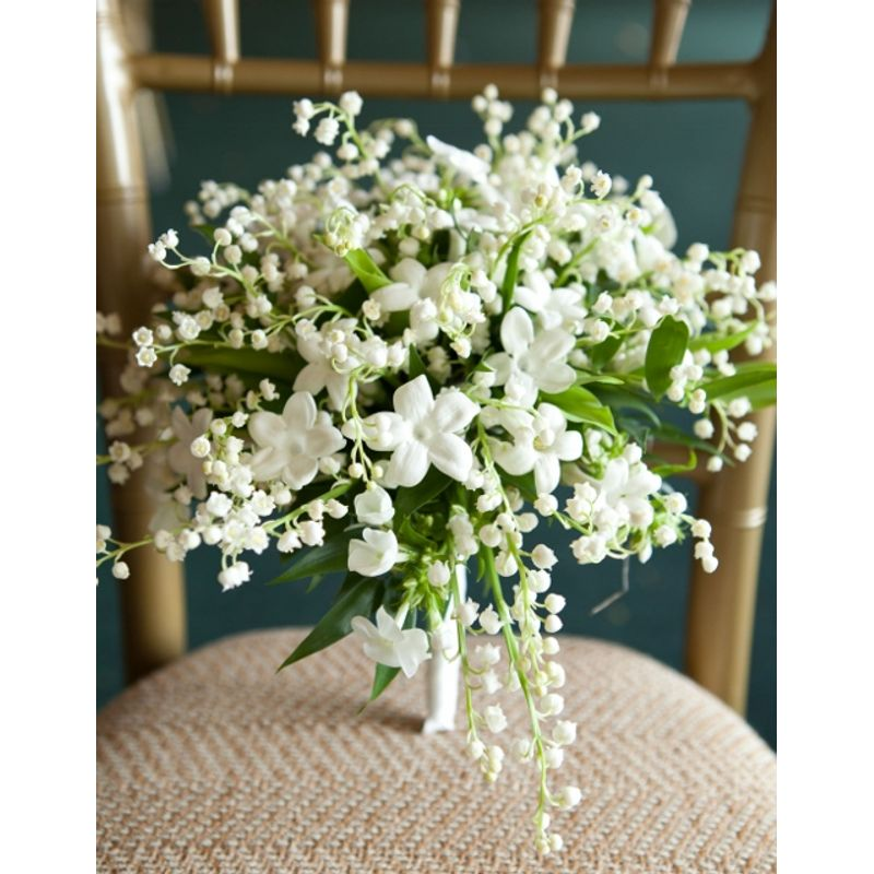 Roses, Calla & Stephanotis Bridal Bouquet Harrison, Rye