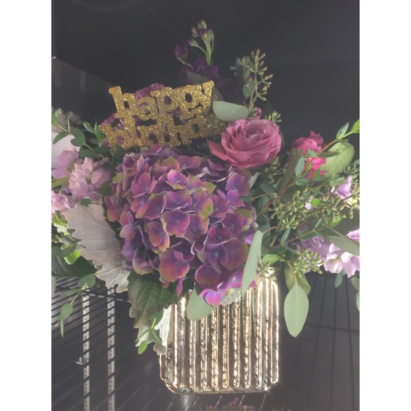 Birthday Bash Blooms by Dragonfly | Zionsville IN - Florist