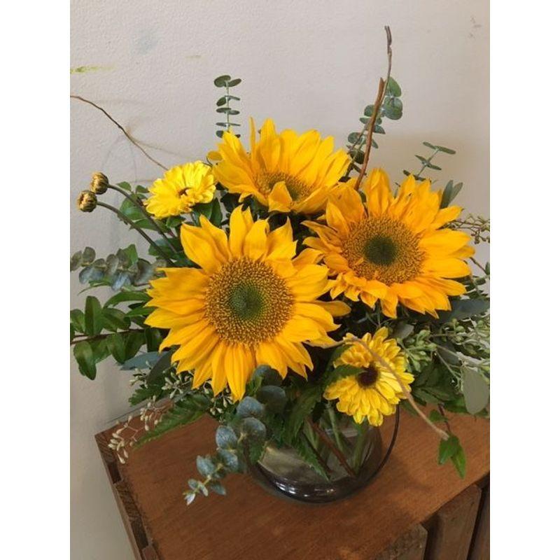 Unique Sunflower Design Columbus Florist: Bloomwoods ...
