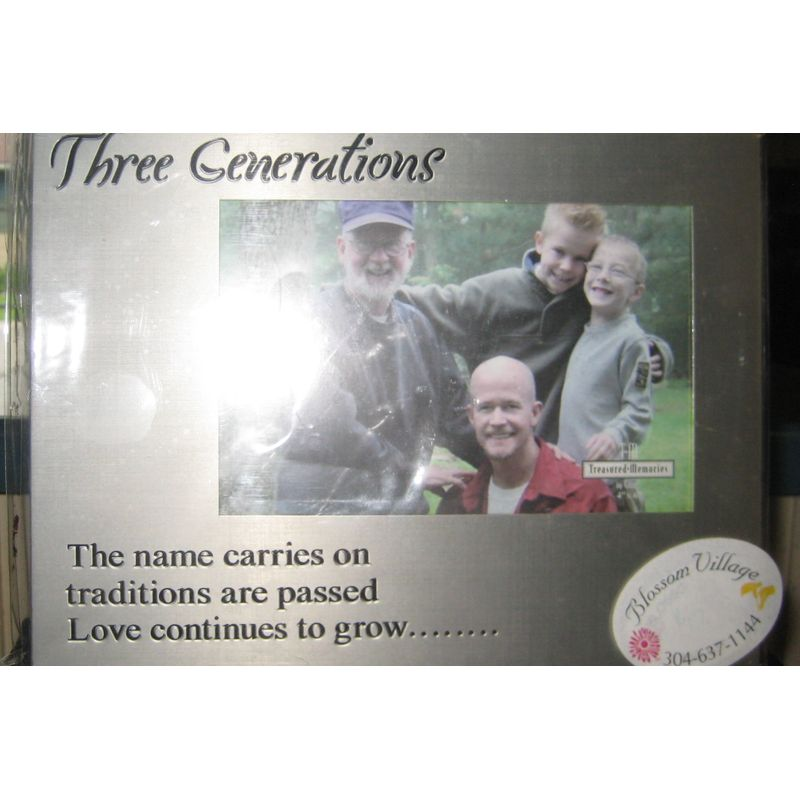 3 Generations Photo Frame Beverly WV, Elkins, Valley Bend ,WV ...