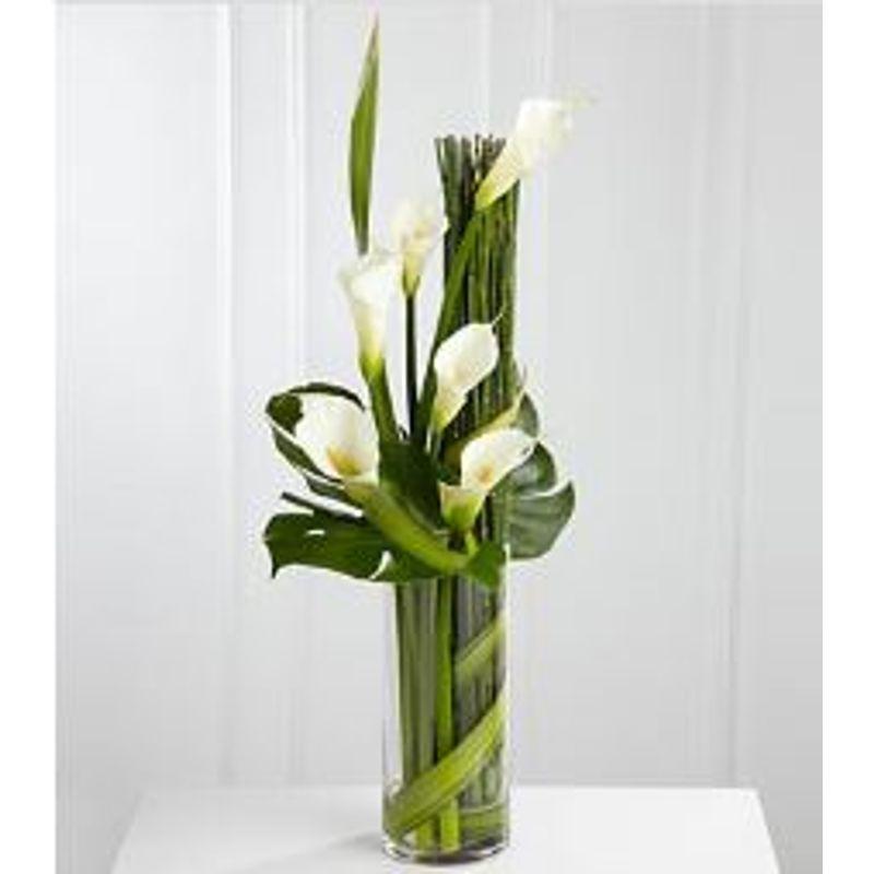 Contemporary Calla Lily Vase Franklin Nh Florist The Blossom