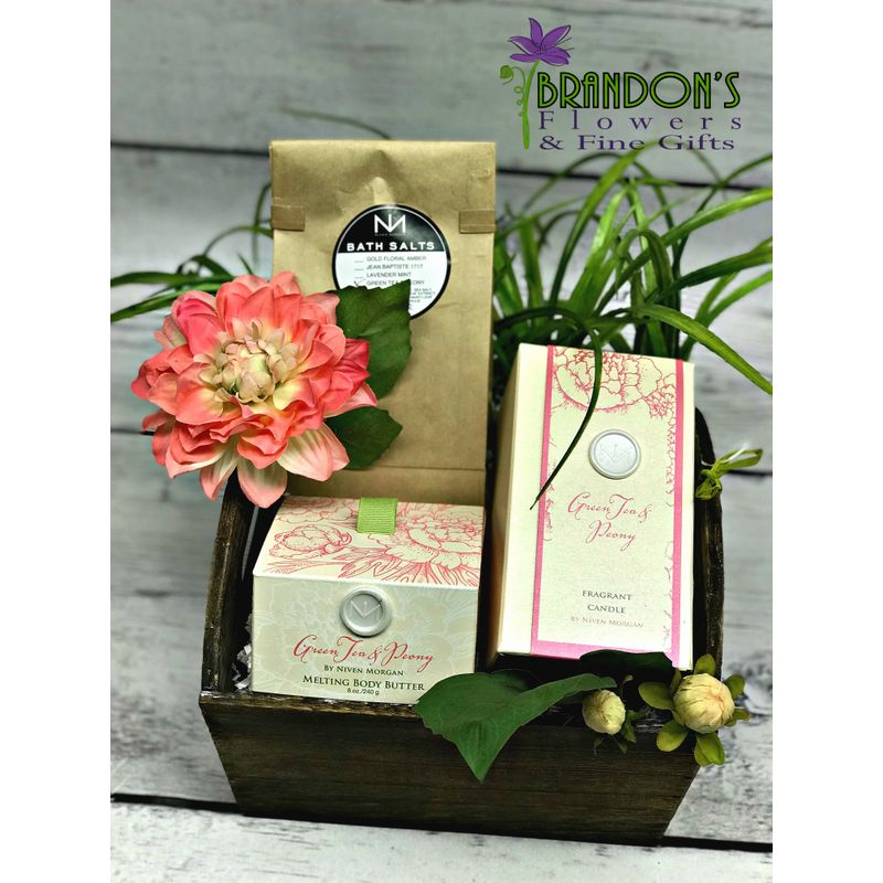 Niven Morgan Gift Basket Pampa Tx Florist Brandons Flowers