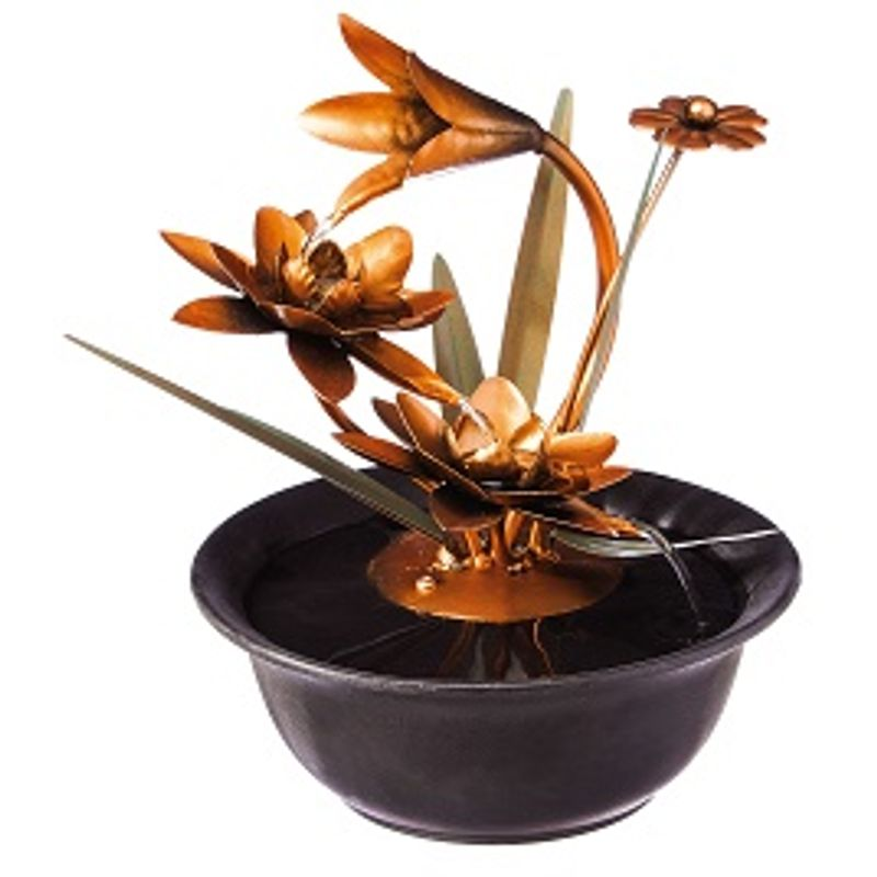 Lotus Wonders Tabletop Fountain South Windsor Florists Broad Brook