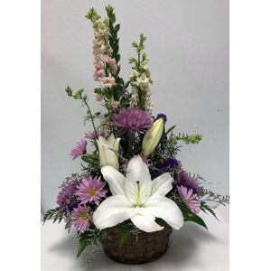 Lavender and White Delight in Owings Maryland, Floral Expressions