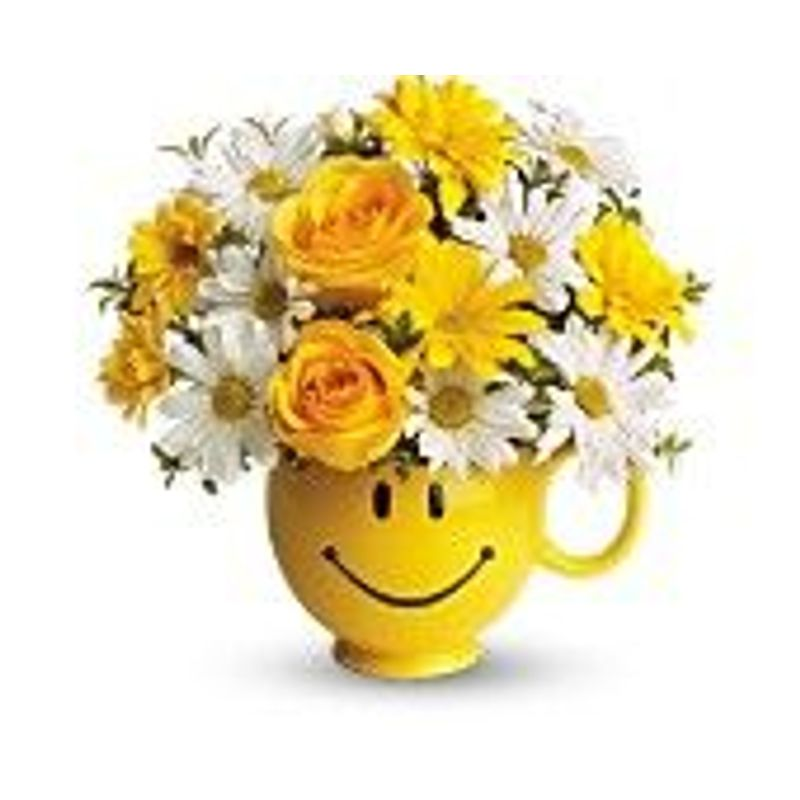 Be Happy Bouquet Only Owings Maryland Florist Floral Expressions