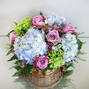 Holbrook ma florist voted best of the best in the south shore hydrangea garden basket in stoughton ma central florist and nursery mightylinksfo