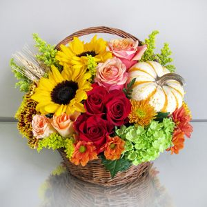 Holbrook ma florist voted best of the best in the south shore autumn harvest basket in stoughton ma central florist and nursery mightylinksfo