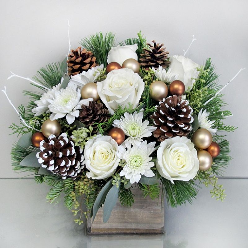 White christmas bouquet voted best of the best in the south shore more views mightylinksfo