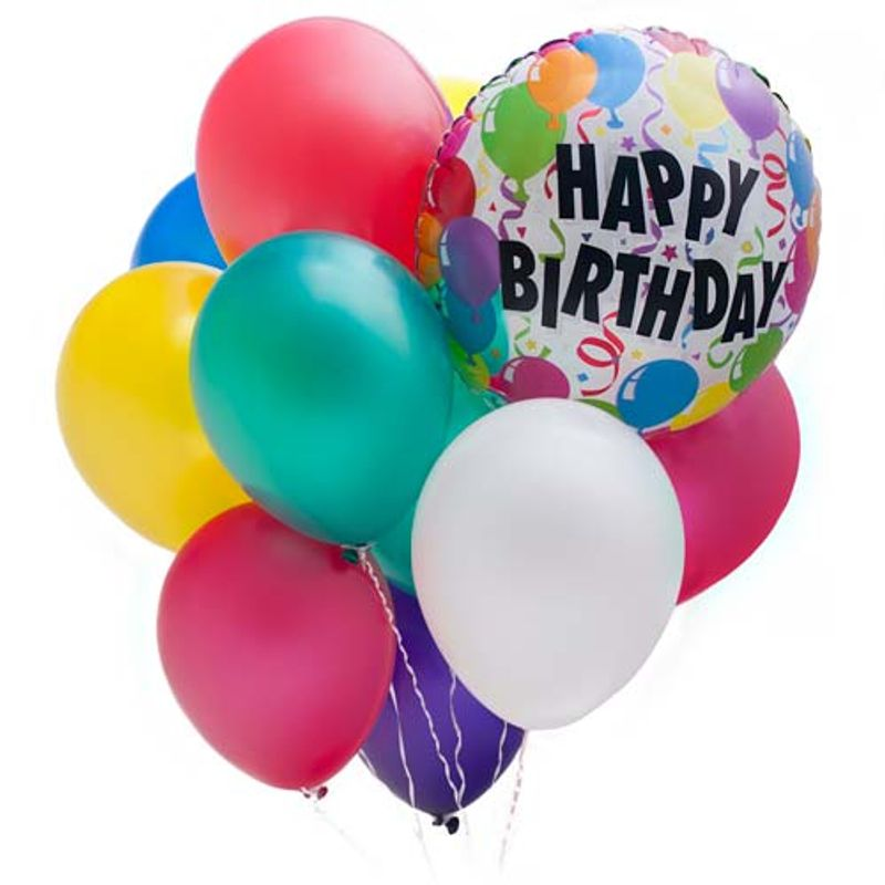 Happy Birthday Balloon Bouquet Eau Claire Chippewa Falls WI 54701 Florist Valley Floral