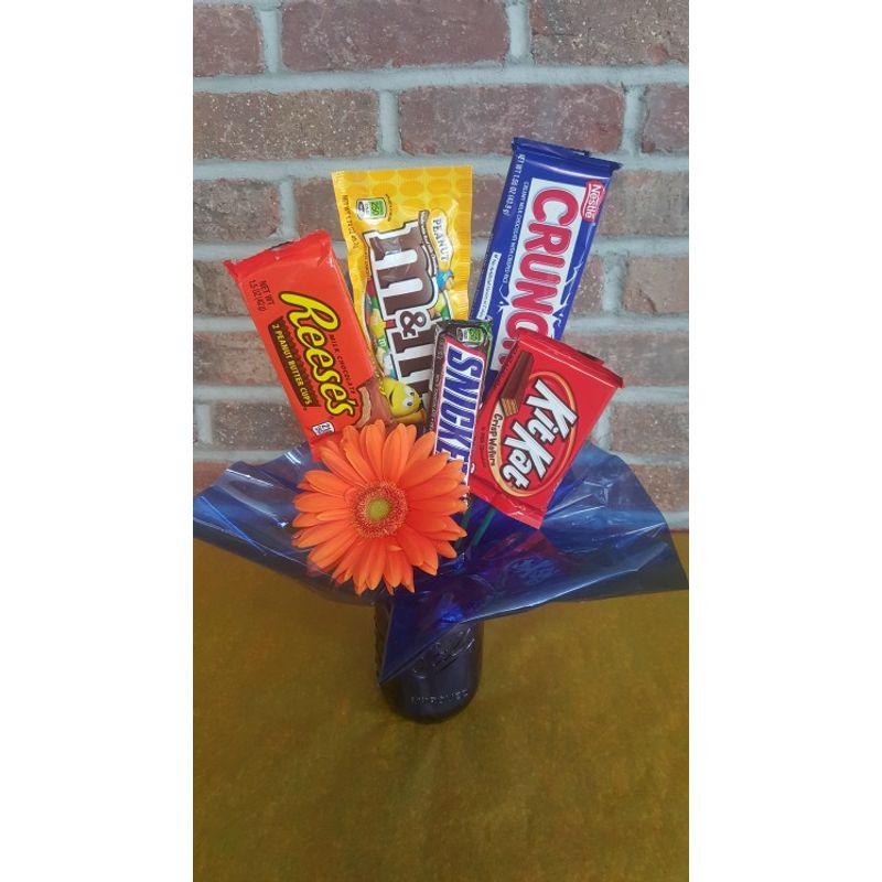 Mason Jar Candy Bouquet Eau Claire Chippewa Falls Wi 54701 Florist