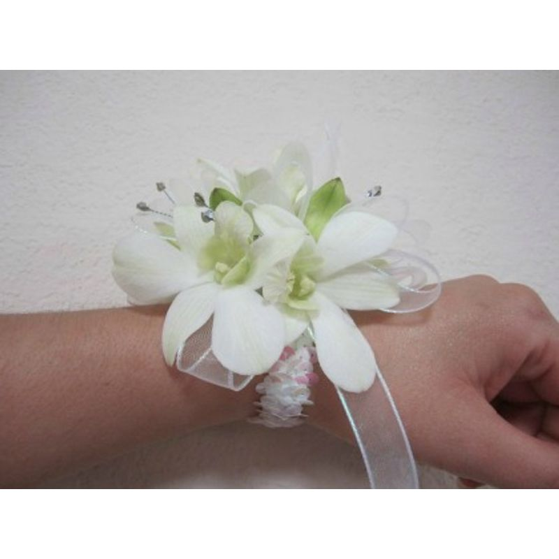 White Orchid Wrist Corsage Eau Claire, Chippewa Falls WI ...