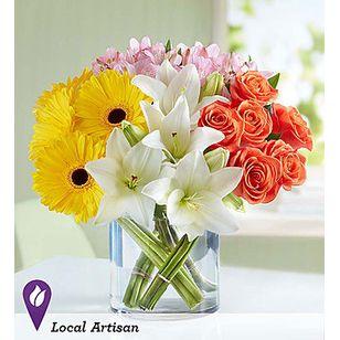 Bn Modern Spring Mix Corona Ca Flower Shop Corona Florist
