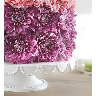 BN Birthday Wishes Flower Cake Pastel Corona CA Shop