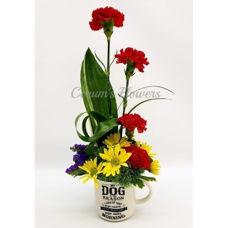 My Dog Is The Reason Bouquet Corum\'s Flowers & Gifts, serving ...