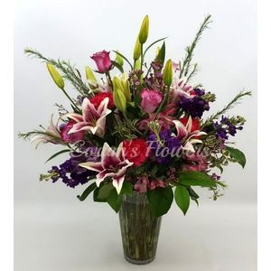 Spring flowers corums flowers gifts serving council bluffs in my heart bouquet in council bluffs iowa corums flowers and gifts mightylinksfo