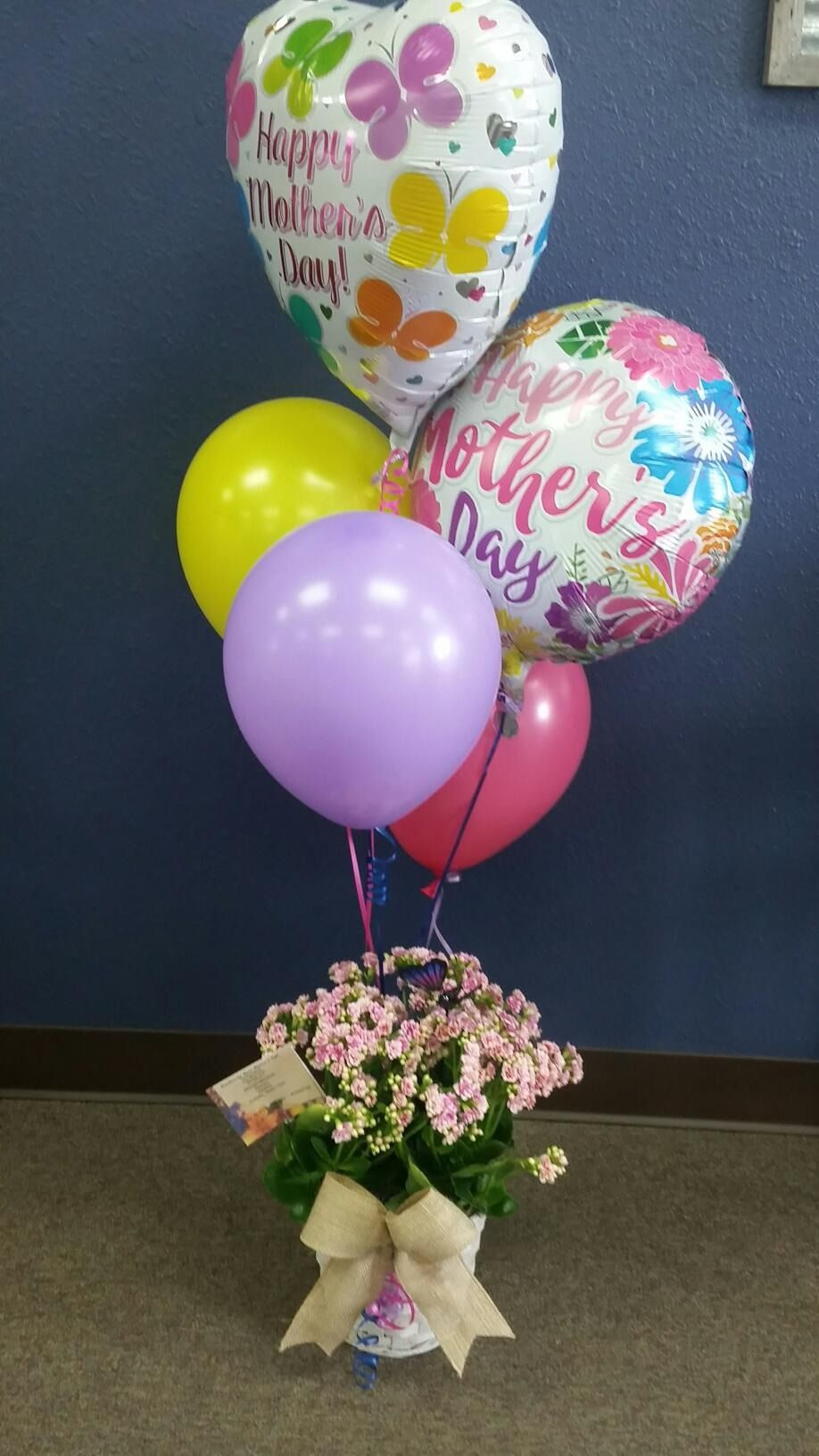 Balloon bouquet and plant creations by grace florist clute tx 77531 izmirmasajfo