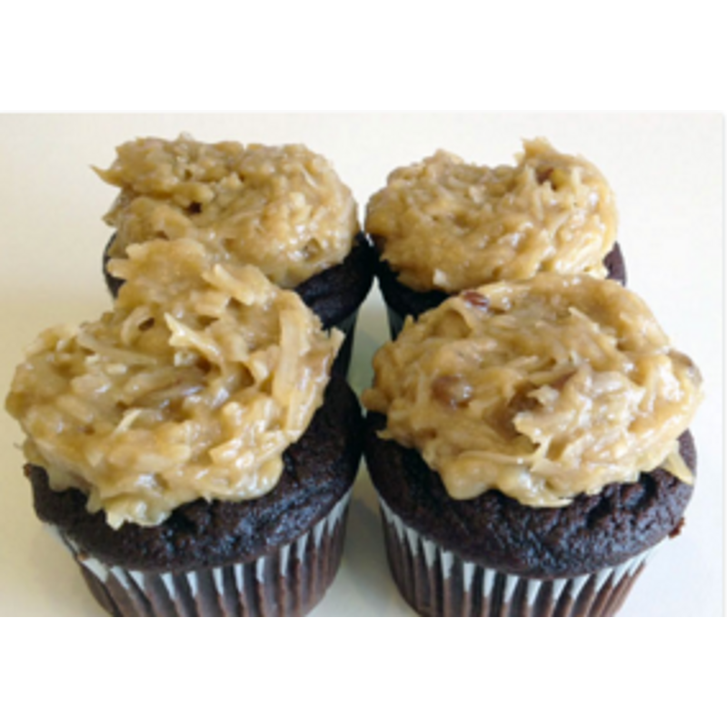 German Chocolate Vienna Cupcakes: Cupcake Delivery By