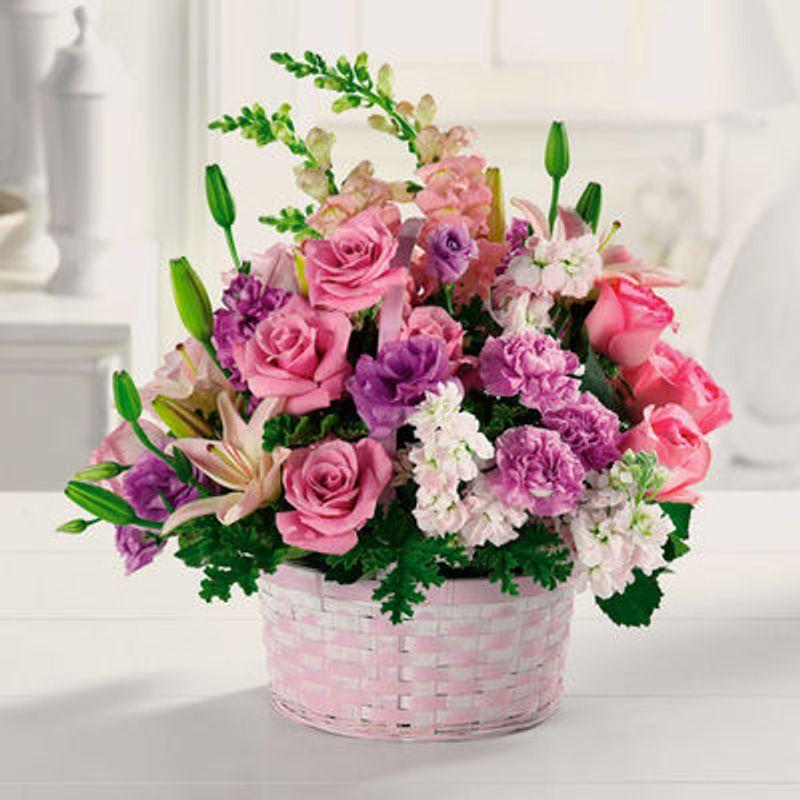 basket of gladness daniels den of flowers