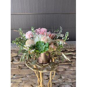 Pink Blush in St. Turlock CA, De La Fleur Flowers & Events