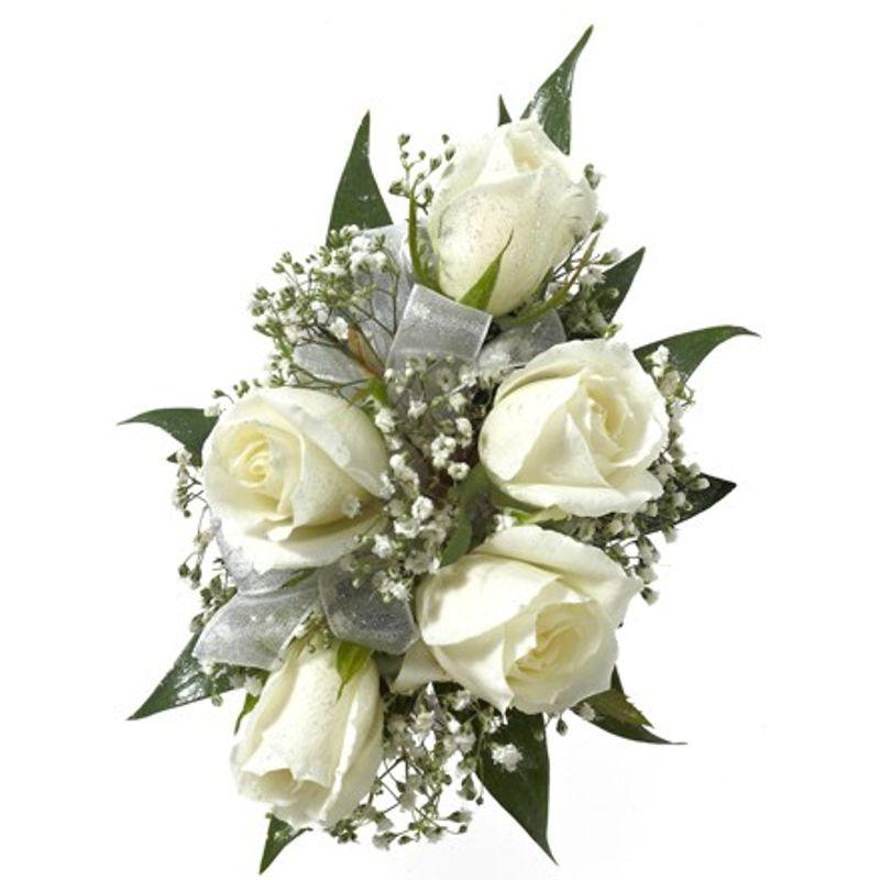 White Spray Rose Corsage Deltona, Orange City, Debary ...White Spray Rose Boutonniere