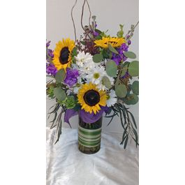Spring flowers designs by gail argyle floral boutique justin whispy summer mightylinksfo
