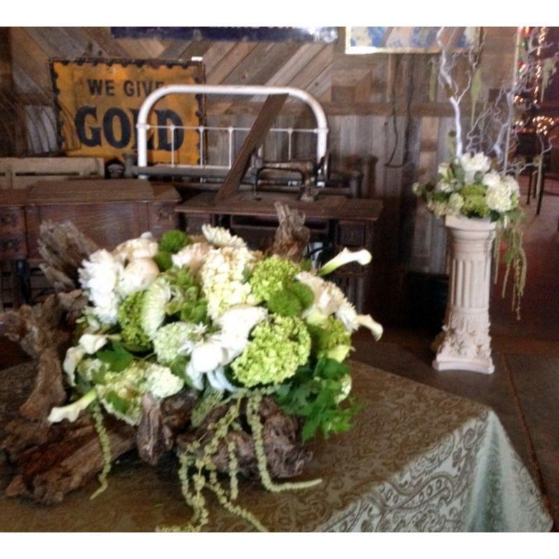 Woodsy Centerpiece Designs By Gail Argyle Floral Boutique Justin